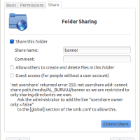 (Solved) Sharing File Linux to Linux or Others OS - Cara membagikan file dari Linux ke OS Lain